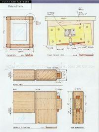 Picture Frame Plans  WoodArchivist