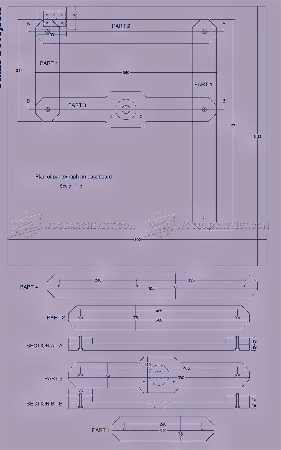 Router Pantograph Plans Woodarchivist