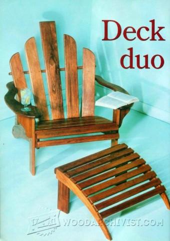 348 Titanic Deck Chair Plans Woodarchivist