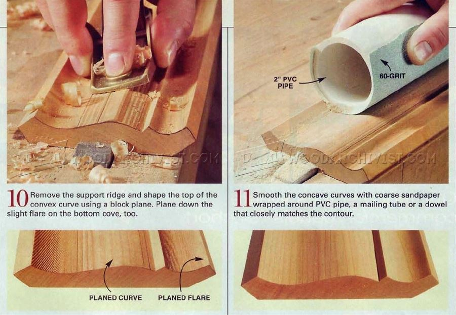 How To Cut Molding With A Table Saw