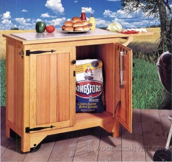 folding chair legs cover hire bradford grill cart plans • woodarchivist