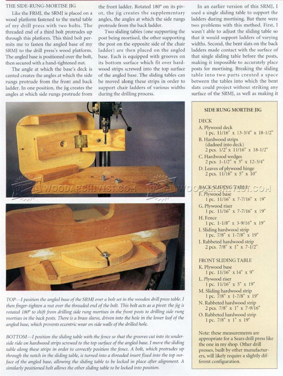 oak rocking chair plans zero gravity uk shaker • woodarchivist