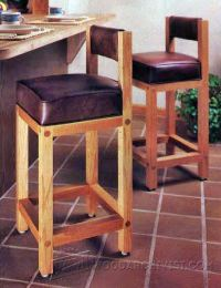 bar stool plan - 28 images - saddle bar stool woodworking ...