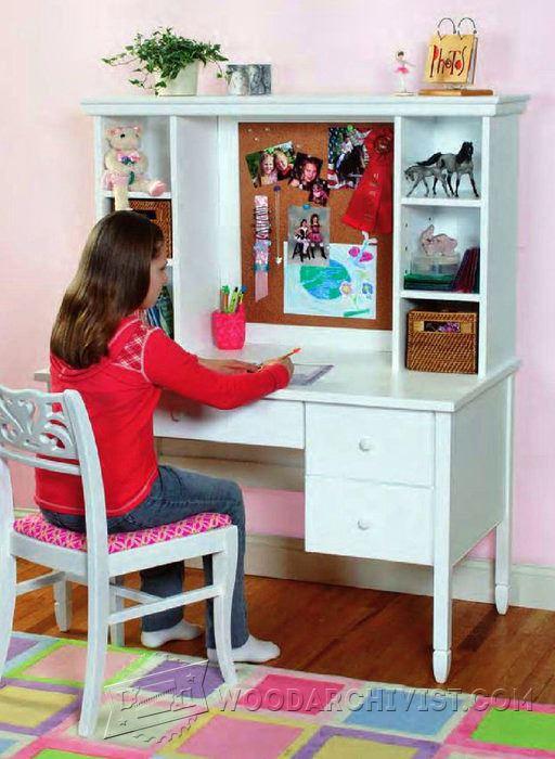 Student Desk Plans  WoodArchivist