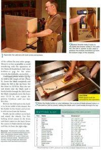 Table Saw Storage Cabinet Plans  WoodArchivist