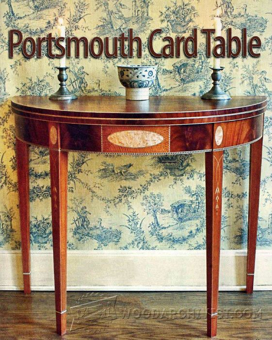 solid wood toy kitchen cabinet refacing mississauga portsmouth card table plans • woodarchivist