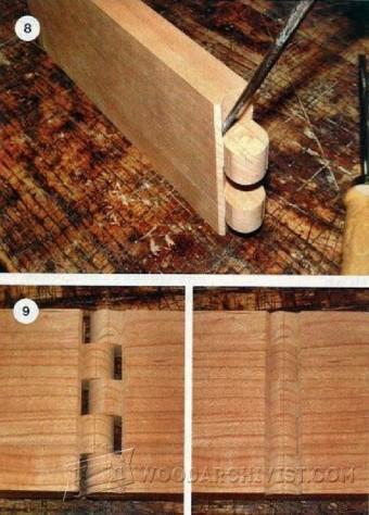 Cutting Wood Hinge Joint  WoodArchivist