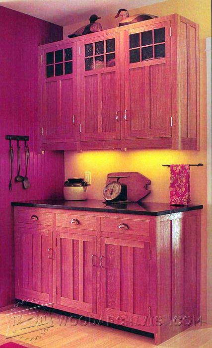 craftsman style kitchen cabinets sinks denver plans • woodarchivist
