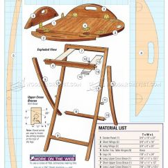 Small Wooden Chair Counter High Table And Chairs Butler Tray Stand Plans • Woodarchivist