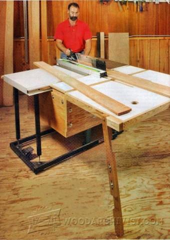 DIY Panel Saw  WoodArchivist
