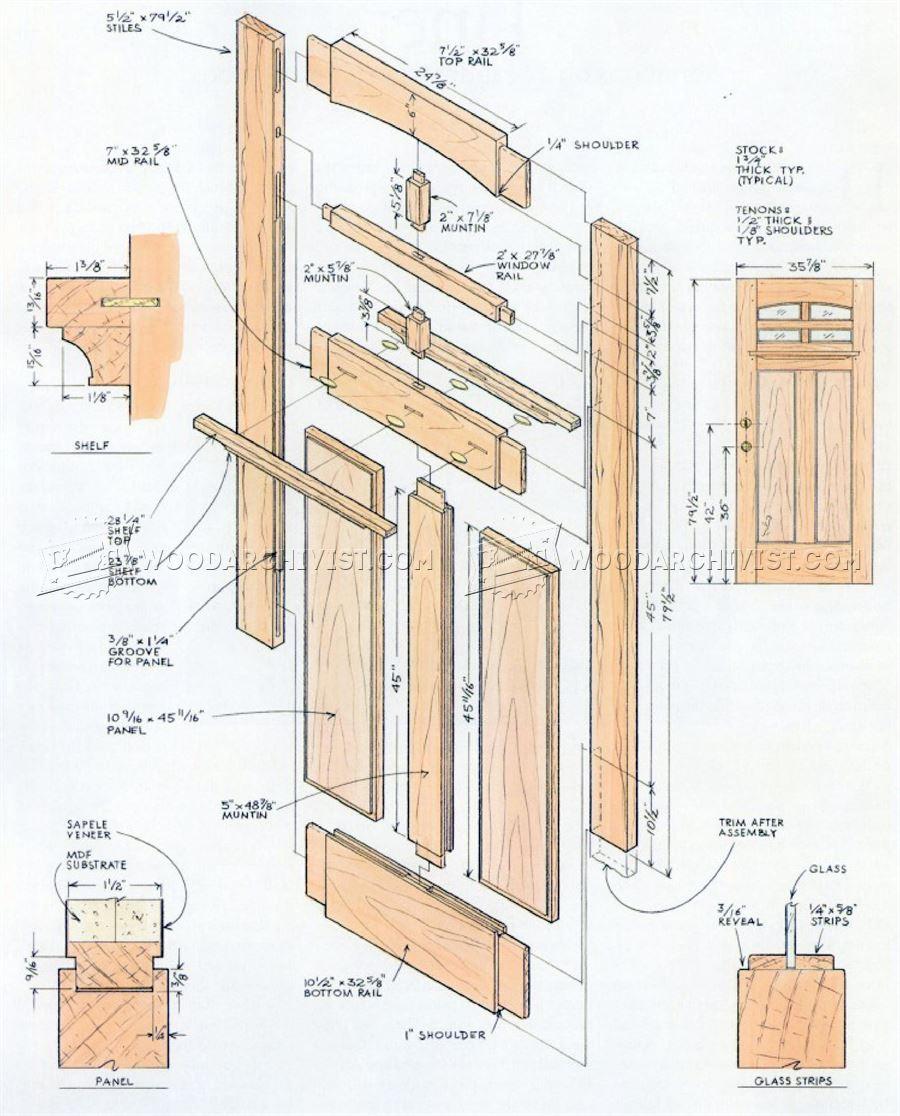 Front Door Plans  WoodArchivist
