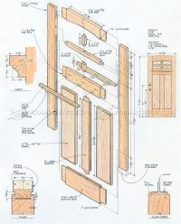 Front Door Plans  WoodArchivist