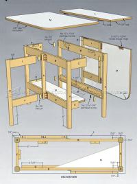 drop leaf table plans free outdoor plans diy shed. g plan ...