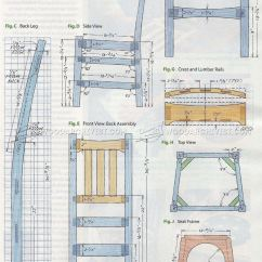 Lounge Chair Outdoor Vintage Drafting Stickley Plans • Woodarchivist