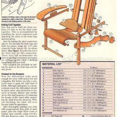 Building An Adirondack Chair Back Covers Dunelm Folding Plans • Woodarchivist