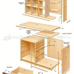 Kitchen Base Cabinet Plans Free Tables At Target Ultimate Tool • Woodarchivist
