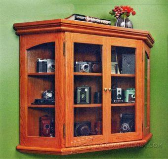 Curio Cabinet Plans  WoodArchivist