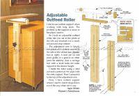 Adjustable Outfeed Roller  WoodArchivist