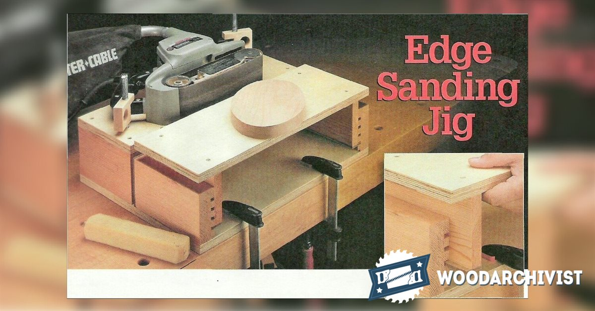 Belt Sander Stand  WoodArchivist