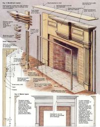 fireplace plan fireplace mantel plans drawings fireplaces