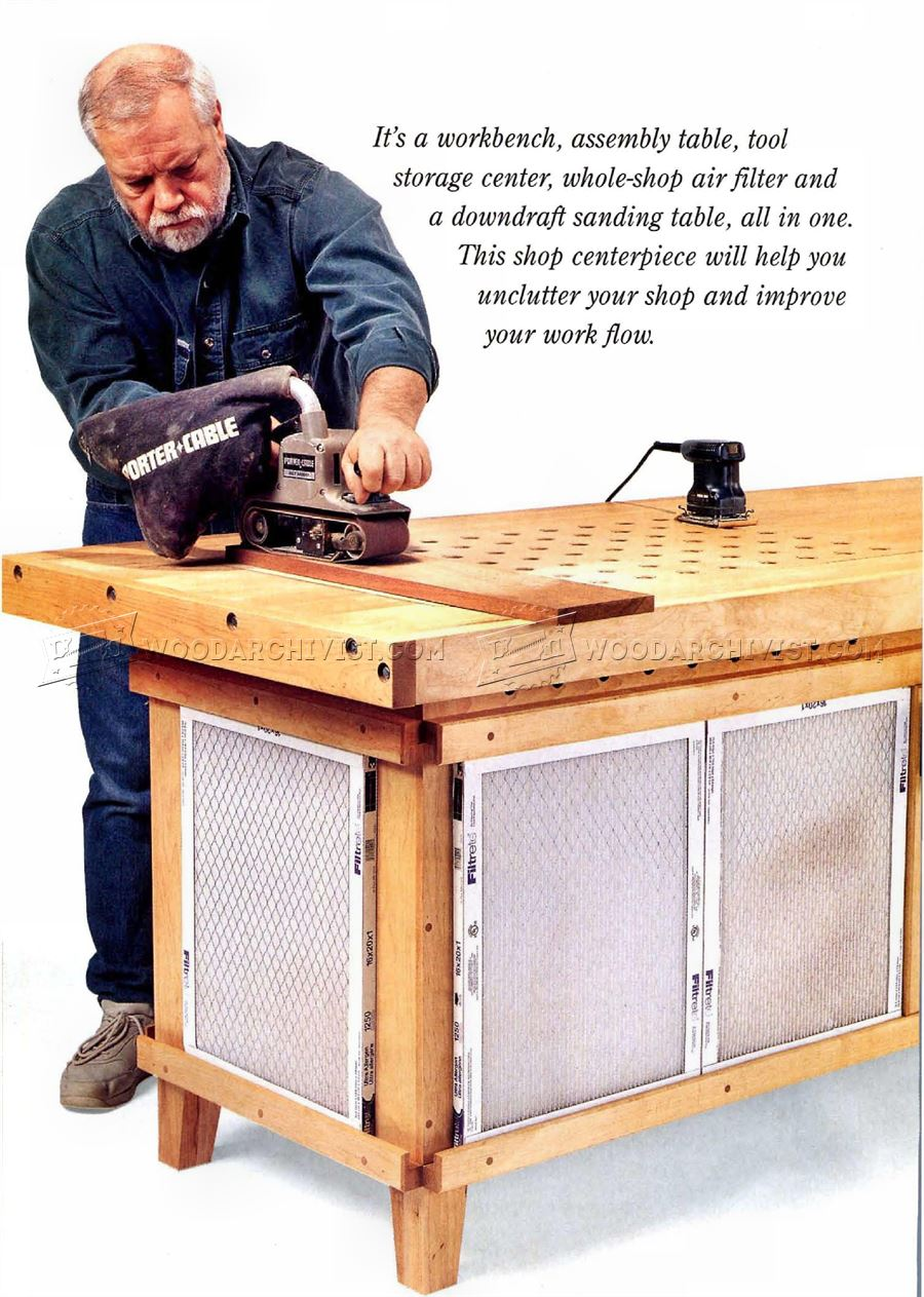 Sanding Table Dust Collection