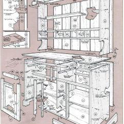 Kitchen Corner Hutch Best Remodeling Company Pine Cupboard Plans • Woodarchivist