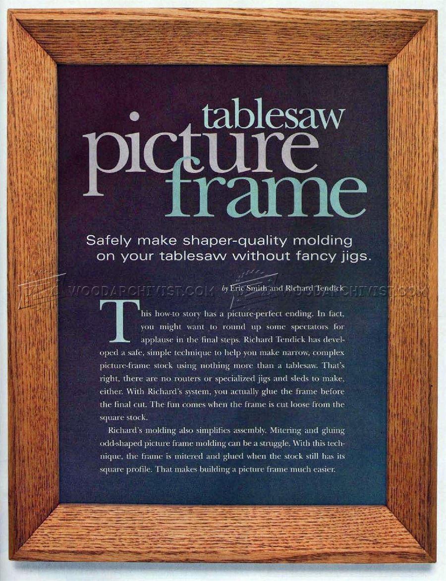 frame saw plans   Amatframe co