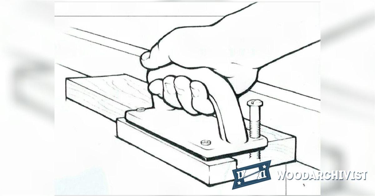 DIY Router Table Push Block • WoodArchivist