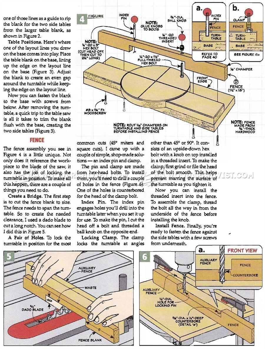 DIY Pull Saw Miter Box  WoodArchivist