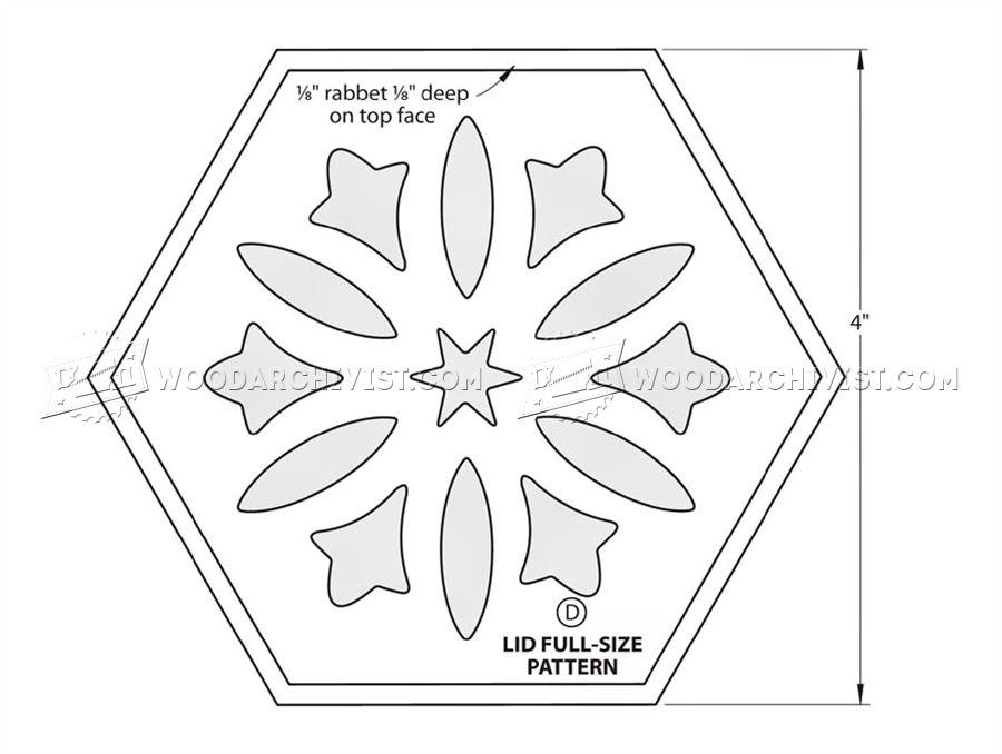 #1470 Scrollsawn Potpourri Box Plans • WoodArchivist