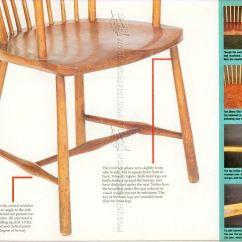 Arts And Crafts Style Chair Rocking Replacement Seat Slats Reading Plans  Woodarchivist