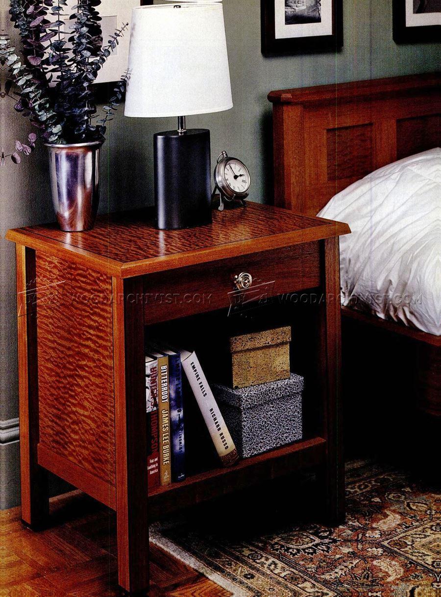 Bedroom Furniture Plans  WoodArchivist