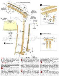 Floor Lamp Woodworking Plans