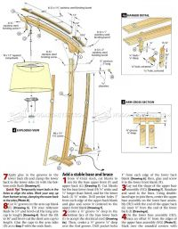 Floor Lamp Woodworking Plans - Lamp Design Ideas