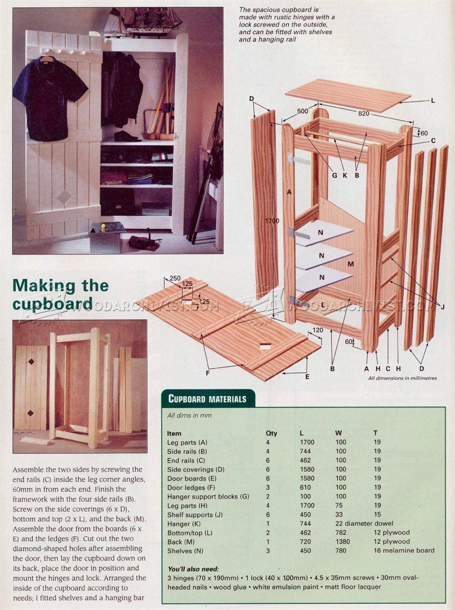 Kids Bedroom Furniture Plans  WoodArchivist