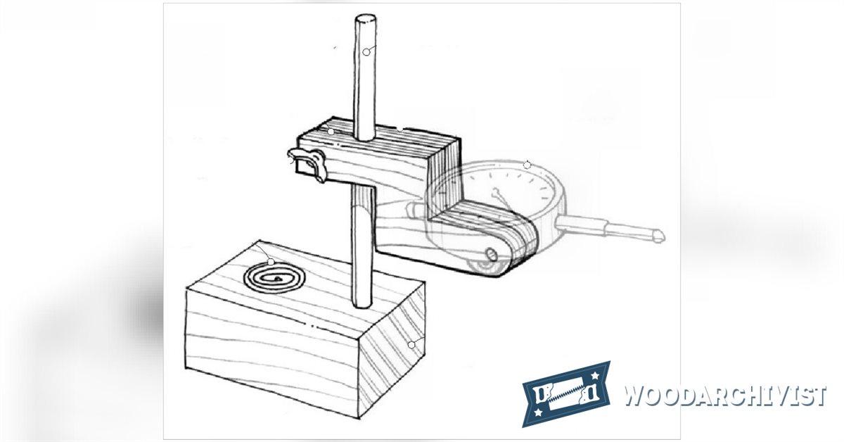 DIY Dial Indicator Base • WoodArchivist