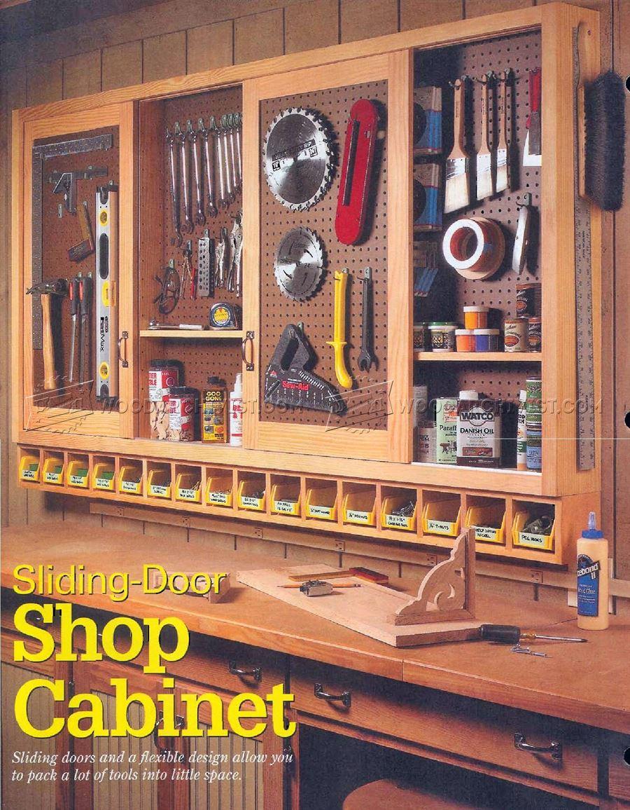 Shop Pegboard Cabinet Plans  WoodArchivist