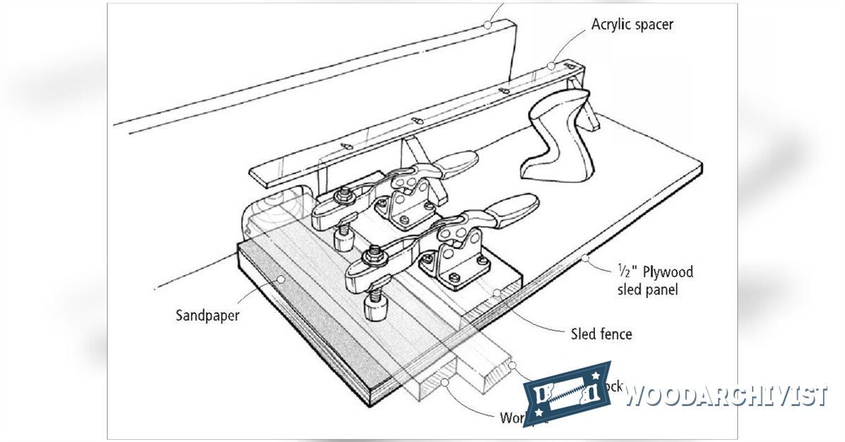 Router Table Sled • WoodArchivist