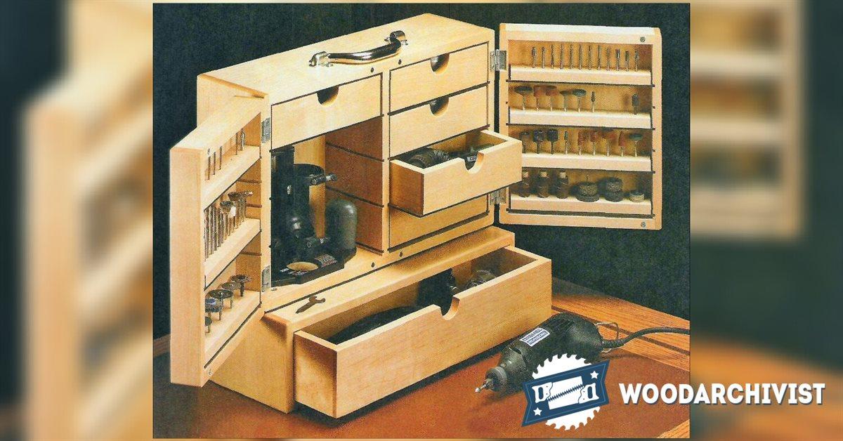Dremel Storage Case Plans  WoodArchivist