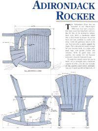 Rocking Adirondack Chair Plans | AndyBrauer.com
