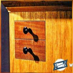 Sofa Glue Band Thick Leather Secret Drawer - Hidden Compartment Furniture • Woodarchivist