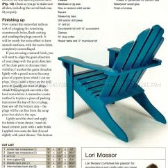 Folding Chair Plans Outdoor Swinging Classic Adirondack • Woodarchivist