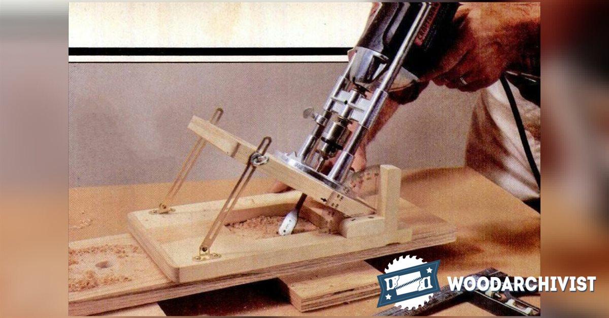 Drill Angle Guide  WoodArchivist
