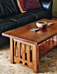 Mission Coffee Table Plans  WoodArchivist
