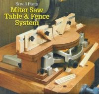 Miter Saw Fence Plans  WoodArchivist