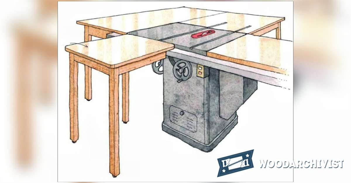 Infeed Table For Table Saw