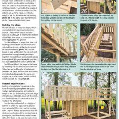 Adirondack Chair Diy Beige Slipper Kids Climbing Frame Plans • Woodarchivist