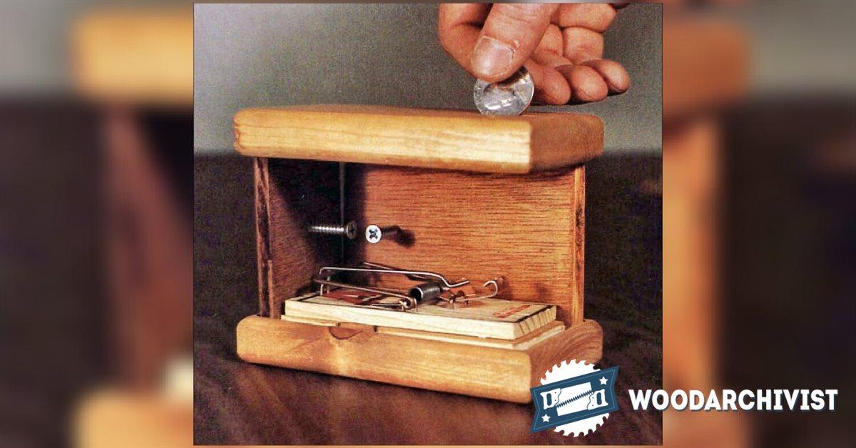 Exploding Coin Bank Plans  WoodArchivist