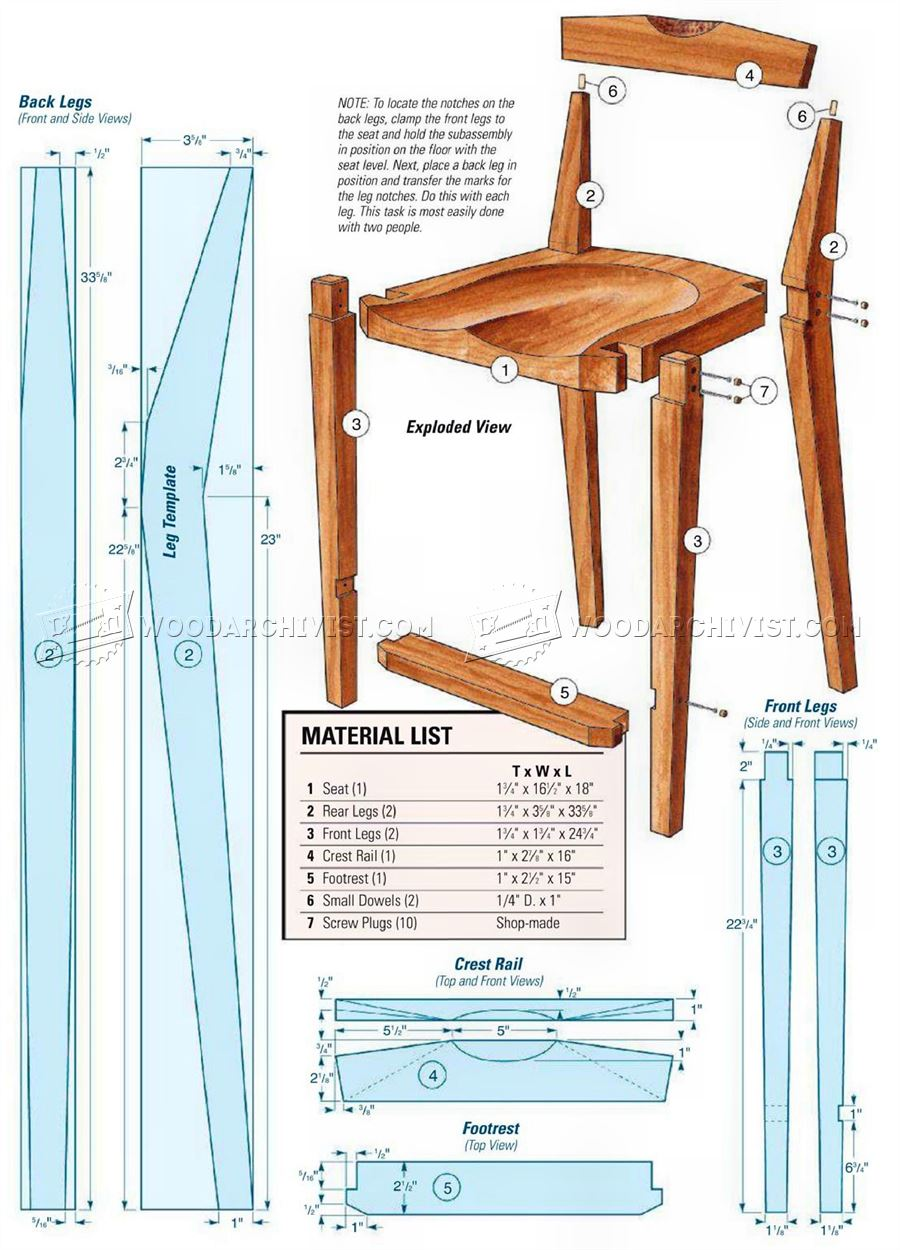 kitchen cabinet wood moen arbor faucet chair plans • woodarchivist