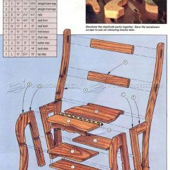 Folding Chair Plans Wood Office Quezon City Step Stool • Woodarchivist
